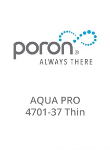 PORON AquaPro 4701-37 Thin Data Sheet
