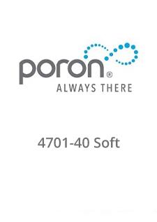 PORON 4701-40 Soft