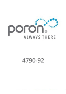 PORON 4790-92 Extra Soft Slow Rebound Materials