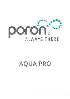 PORON AquaPro Datasheet