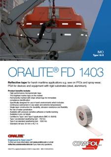 ORALITE FD1403 Flyer